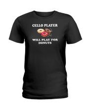 FUNNY TSHIRT FOR CELLO  PLAYERS  Ladies T-Shirt thumbnail