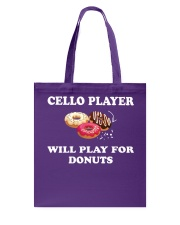 FUNNY TSHIRT FOR CELLO  PLAYERS  Tote Bag tile
