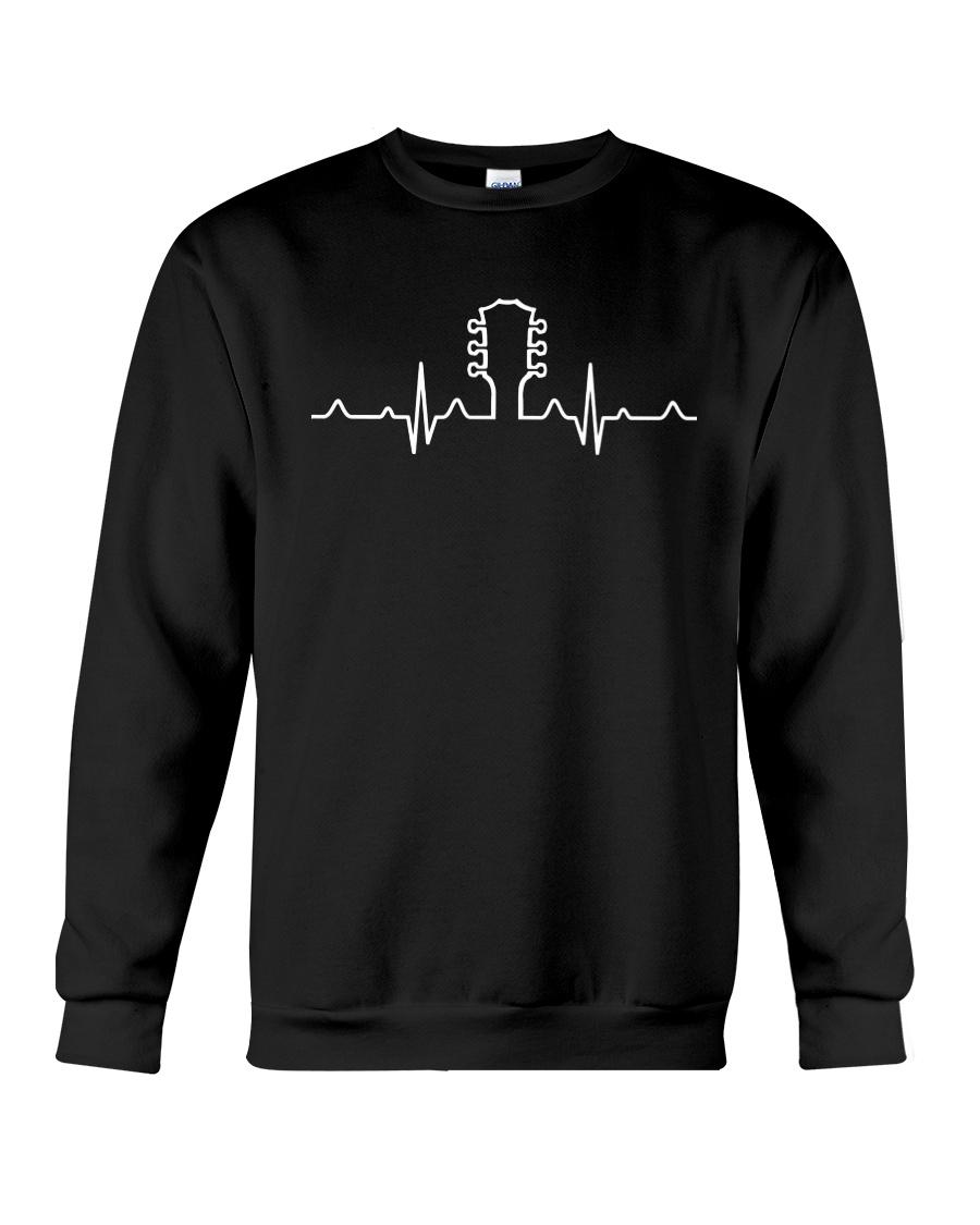 ELECTRIC ACOUSTIC GUITAR TSHIRT FOR GUITARIST Crewneck Sweatshirt
