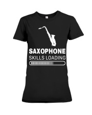 FUNNY SAX TSHIRT FOR SAXOPHONE PLAYER Premium Fit Ladies Tee thumbnail