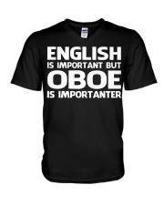 FUNNY DESIGN FOR OBOE PLAYERS V-Neck T-Shirt thumbnail