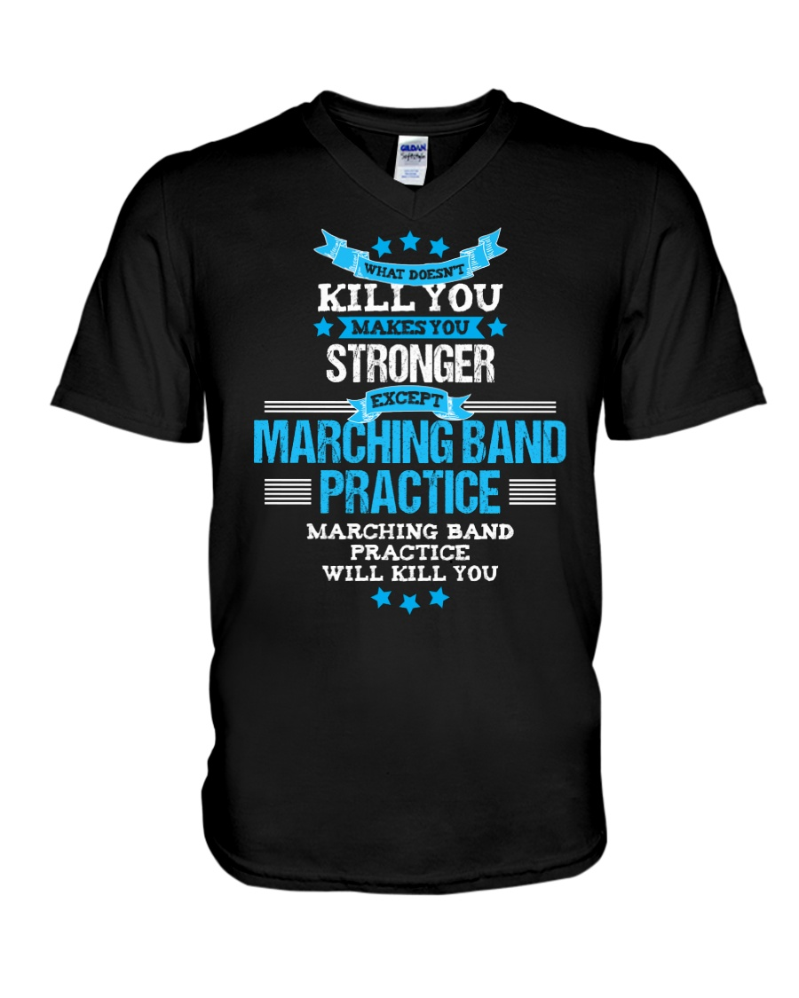 AWESOME TSHIRT FOR MARCHING BAND LOVERS V-Neck T-Shirt