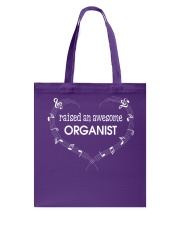 FUNNY  DESIGN FOR ORGAN PLAYERS Tote Bag thumbnail