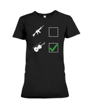 FUNNY TSHIRT FOR CELLO  PLAYERS  Premium Fit Ladies Tee thumbnail
