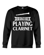 FUNNY DESIGN FOR CLARINET PLAYERS Crewneck Sweatshirt thumbnail