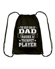 TRUMPET TSHIRT FOR TRUMPETER Drawstring Bag thumbnail