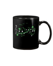 IRISH SHAMROCK MUSIC NOTE TSHIRT - TREBLE VERSION Mug thumbnail