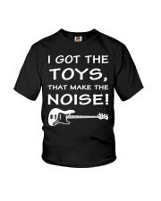 FUNNY BASS GUITAR TSHIRT FOR BASSIST Youth T-Shirt thumbnail