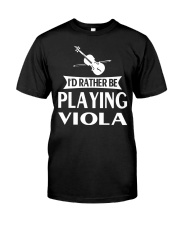 FUNNY TSHIRT FOR VIOLA  PLAYERS  Classic T-Shirt front