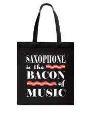 FUNNY SAX TSHIRT FOR SAXOPHONE PLAYER Tote Bag tile