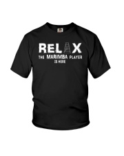 FUNNY DESIGN FOR MARIMBA PLAYERS Youth T-Shirt thumbnail