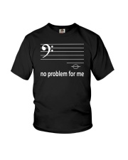 FUNNY MUSIC THEORY TSHIRT  BASS Youth T-Shirt thumbnail