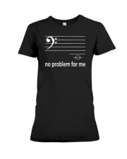FUNNY MUSIC THEORY TSHIRT  BASS Premium Fit Ladies Tee thumbnail