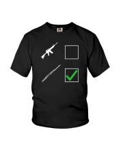 FUNNY DESIGN FOR FLUTE PLAYERS Youth T-Shirt thumbnail