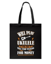 FUNNY DESIGN FOR UKULELE LOVERS Tote Bag thumbnail