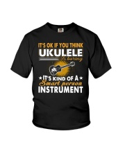 FUNNY DESIGN FOR UKULELE LOVERS Youth T-Shirt thumbnail