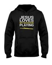 FUNNY  DESIGN FOR BASSOON PLAYERS Hooded Sweatshirt thumbnail