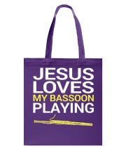 FUNNY  DESIGN FOR BASSOON PLAYERS Tote Bag thumbnail