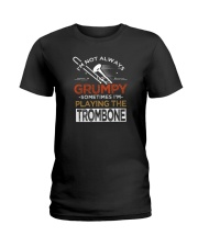 TROMBONE TSHIRT FOR TROMBONIST Ladies T-Shirt tile