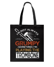 TROMBONE TSHIRT FOR TROMBONIST Tote Bag thumbnail
