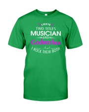 FUNNY MUSIC THEORY TSHIRT FOR MUSICIAN TEACHER Classic T-Shirt front