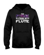 AWESOME DESIGN FOR FLUTE PLAYERS Hooded Sweatshirt front