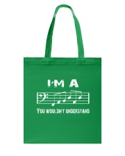I'M A FAB FABULOUS DAD BASS CLEF - FATHER'S DAY Tote Bag thumbnail