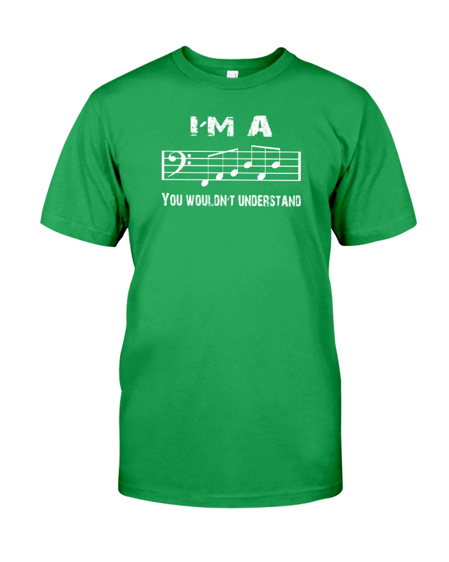 I'M A FAB FABULOUS DAD BASS CLEF - FATHER'S DAY Classic T-Shirt