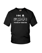 I'M A FAB FABULOUS DAD BASS CLEF - FATHER'S DAY Youth T-Shirt thumbnail