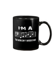 I'M A FAB FABULOUS DAD BASS CLEF - FATHER'S DAY Mug thumbnail