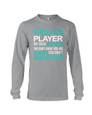 FUNNY TSHIRT FOR CELLO  PLAYERS  Long Sleeve Tee thumbnail