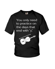 FUNNY TSHIRT FOR CELLO  PLAYERS  Youth T-Shirt thumbnail