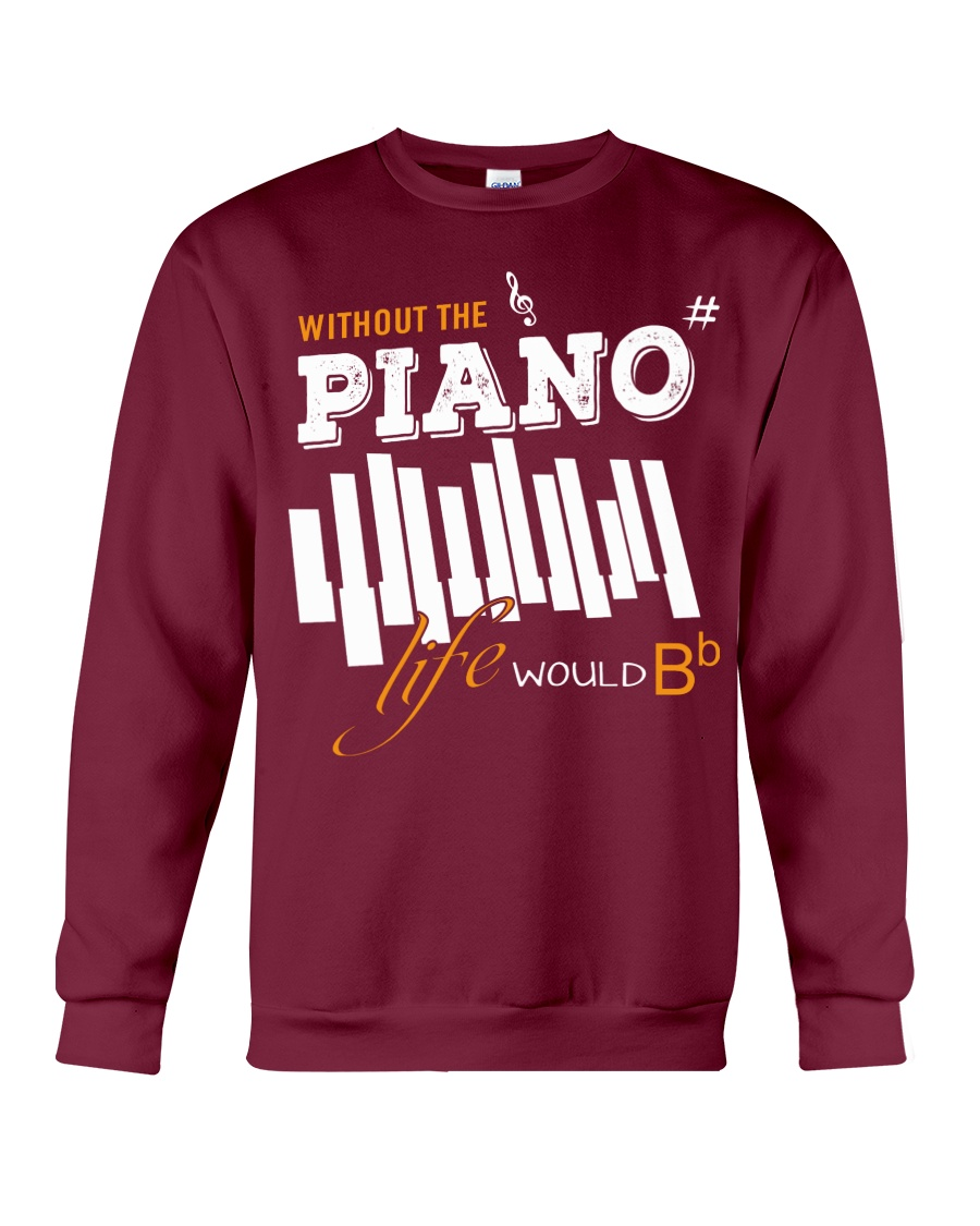 AWESOME DESIGN FOR PIANO PLAYERS Crewneck Sweatshirt