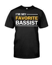 FUNNY BASS GUITAR TSHIRT FOR BASSIST Premium Fit Mens Tee thumbnail
