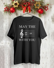 May the 4th be with you Classic T-Shirt lifestyle-holiday-crewneck-front-2