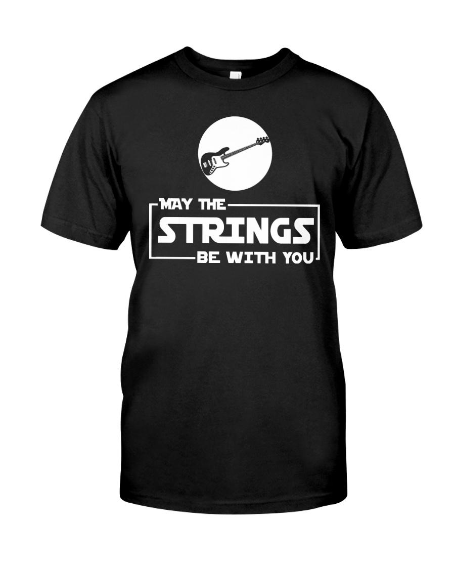 FUNNY BASS GUITAR TSHIRT FOR BASSIST Classic T-Shirt