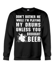 FUNNY DESIGN FOR DRUMMERS Crewneck Sweatshirt thumbnail