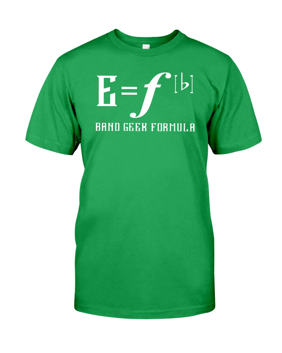 E Fb BAND GEEK FORMULA Classic T-Shirt