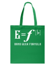 E Fb BAND GEEK FORMULA Tote Bag thumbnail