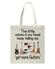 ELECTRIC ACOUSTIC GUITAR TSHIRT FOR GUITARIST Tote Bag tile