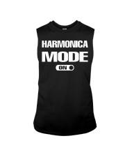 FUNNY DESIGN FOR HARMONICA PLAYERS Sleeveless Tee thumbnail
