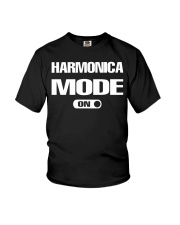 FUNNY DESIGN FOR HARMONICA PLAYERS Youth T-Shirt thumbnail