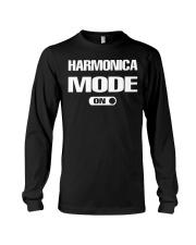 FUNNY DESIGN FOR HARMONICA PLAYERS Long Sleeve Tee thumbnail