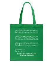 FUNNY MUSIC THEORY TSHIRT - BABY SHARK SHEET Tote Bag thumbnail