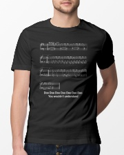 FUNNY MUSIC THEORY TSHIRT - BABY SHARK SHEET Classic T-Shirt lifestyle-mens-crewneck-front-13