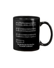 FUNNY MUSIC THEORY TSHIRT - BABY SHARK SHEET Mug thumbnail
