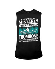 TROMBONE TSHIRT FOR TROMBONIST Sleeveless Tee thumbnail