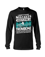 TROMBONE TSHIRT FOR TROMBONIST Long Sleeve Tee thumbnail