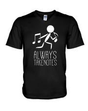 TSHIRT FOR MUSICIAN - MUSIC TEACHER - ORCHESTRA V-Neck T-Shirt thumbnail