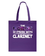 FUNNY DESIGN FOR CLARINET PLAYERS Tote Bag thumbnail
